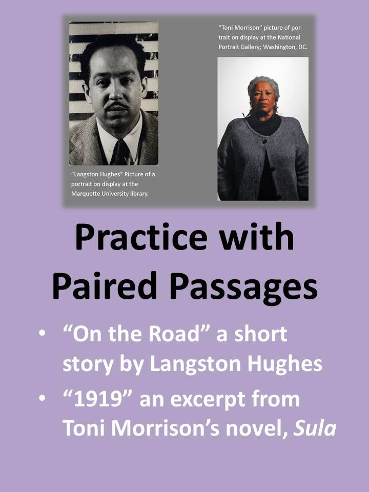 Practice with Paired Passages